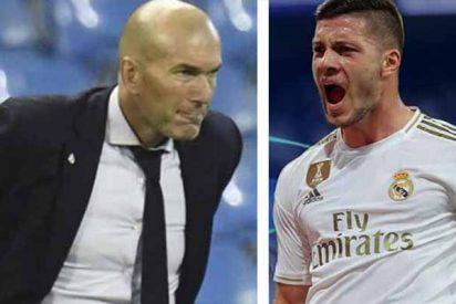 """Zidane saca pecho por Jovic: """"Yo lo pedí, decir tonterías es complicado"""""""