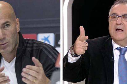 """Roberto Gómez, fulminado en redes por exigir la dimisión de Zidane: """"¿Y a ti cuándo te cesan?"""""""
