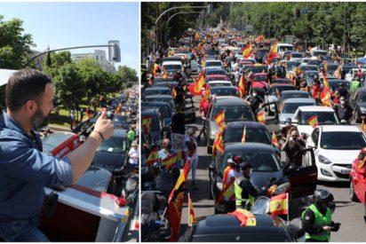 VOX organiza la primera gran manifestación contra el '155 sanitario' de Sánchez en Madrid: una 'mega caravana' en toda España