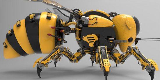 Abejas robot, el futuro delser vivo más importante del planeta