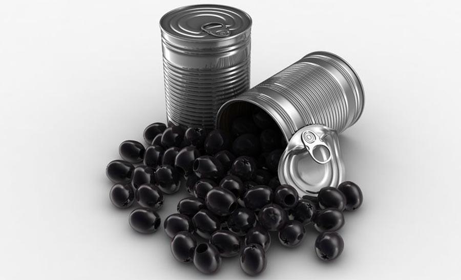 La peligrosa sustancia que contienen las aceitunas negras en lata que perjudica tu salud y probablemente no conoces