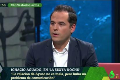"""Aguado enfría las expectativas de laSexta al """"guardar"""" lealtad a Ayuso y poner a caldo a Sánchez"""