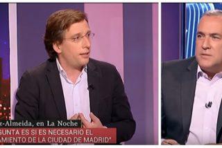 Almeida corta la mala leche de Fortes arrojando sobre la mesa de TVE los datos que desautorizan un estado de alarma en Madrid