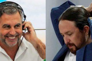 "Alsina deja para el arrastre a los ""voceros"" podemitas de Twitter tras el nuevo revés a Iglesias"
