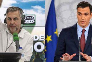 Alsina destroza a Sánchez: encuentra el audio del presidente cuando aseguró en junio que habíamos ganado al virus y le remata