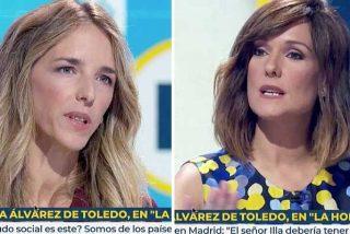"""Álvarez de Toledo denuncia en la propia TVE el fichaje de Cintora: """"¿De verdad esta persona representa la pluralidad de España?"""""""
