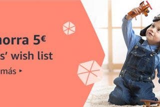 Compra juguetes en Amazon y ahorra 5 €, con la Kids' Wish List ðŸŽ�