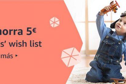 Compra juguetes en Amazon y ahorra 5 €, con la Kids' Wish List 🎁
