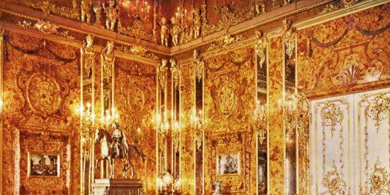 Encuentran un barco nazi con el tesoro de la Cámara de Ámbar, la 'octava maravilla del mundo'