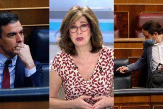 """Ana Rosa Quintana estalla y lanza la denuncia que acaba con Sánchez e Iglesias: """"Es un golpe de Estado"""""""