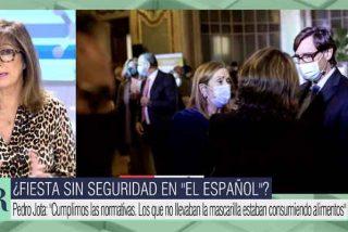 """Ana Rosa sacude a los de la farra con Pedrojota: """"Después piden a la gente que no se reúnan más de seis"""""""