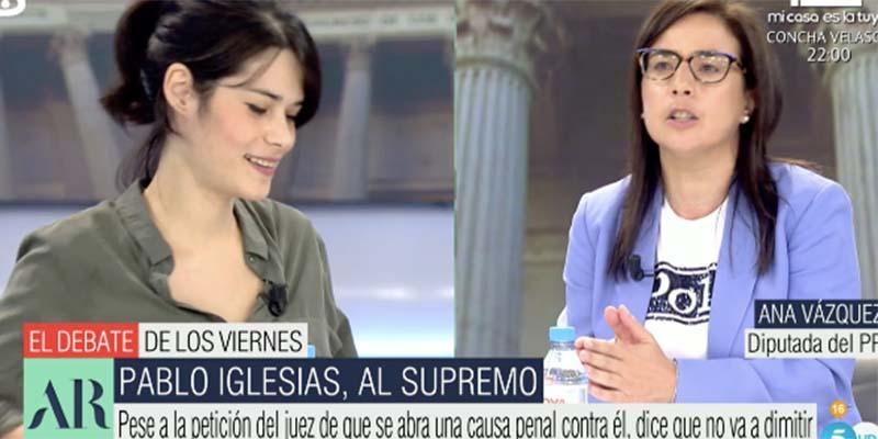 Una diputada del PP destapa a Isa Serra: «Estás condenada a 19 meses de cárcel… ¡Y aquí, sin dimitir!»