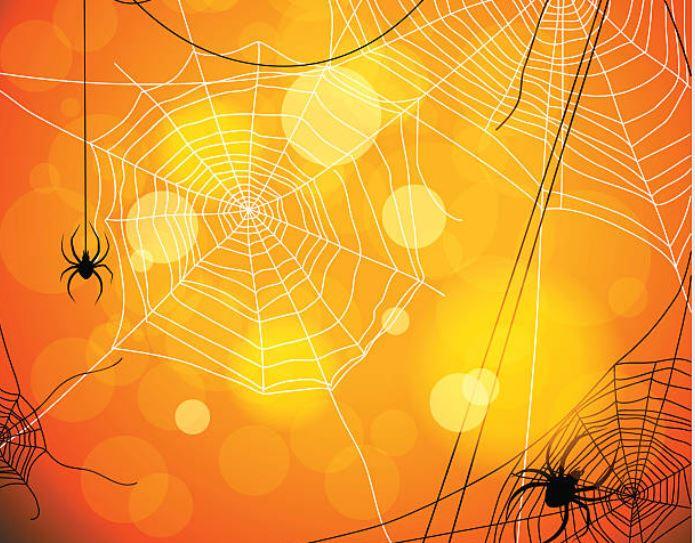 arañas en Halloween