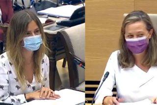"""""""¿Según Igualdad, Pablo Iglesias es un acosador sexual?"""": La pregunta de Bea Fanjul (PP) que transforma a Vicky Rosell en un manojo de nervios"""