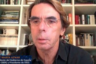 """Aznar advierte del 'efecto Podemos': """"España se mueve hacia un populismo autoritario"""""""