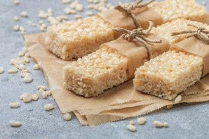 Barritas de arroz inflado caseras, «krispies treats»