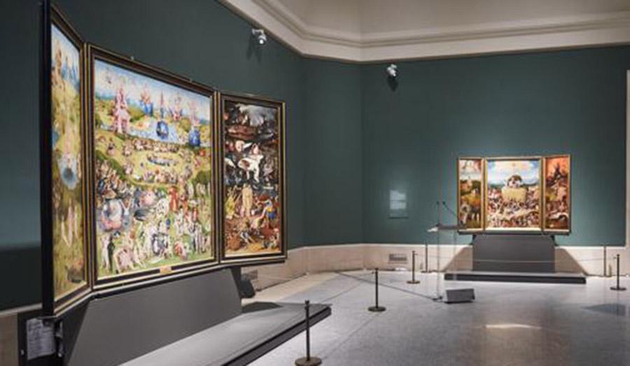 El Bosco reabre su sala en el Museo del Prado con más espacio e iluminación 'personalizada'