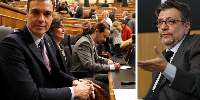 """Camacho (ABC) sobre Sánchez y su tropa: """"Mediocridad; hacen el mal mejor que nadie"""""""