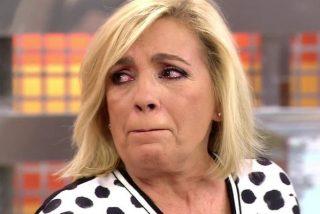 """Carmen Borrego pierde los papeles como nunca antes contra un compañero y toca fondo en Telecinco: """"¡Eres un puto rastrero!"""""""