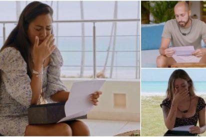 Lo que escondían las cartas de las parejas de 'La isla de las tentaciones 2': sus infidelidades son lo de menos