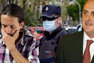 """La Policía tumba el 'bulo' de Pablo Iglesias: las amenazas de muerte al juez del 'Caso Dina' no son de """"la extrema derecha"""""""
