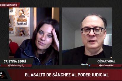 """El Minuto de Oro de César Vidal: """"El que se cargó el CGPJ fue el PSOE de Felipe González"""""""