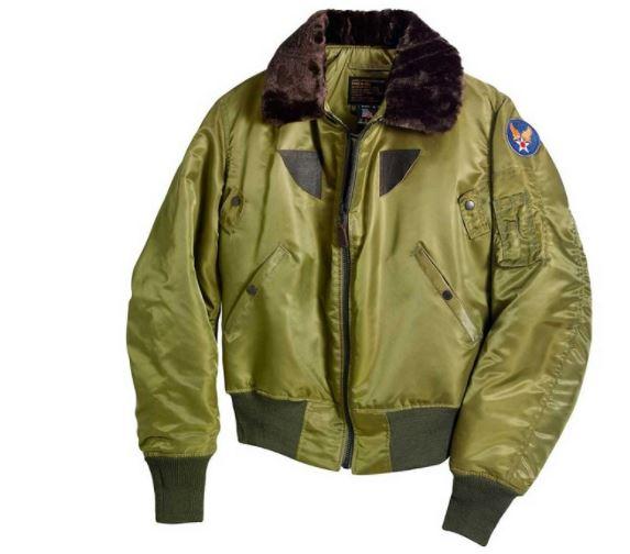 la chaqueta B-15