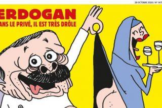 Turquía declara la 'guerra' a la revista Charlie Hebdo por una caricatura de Recep Tayyip Erdogan y mencionar a Mahoma