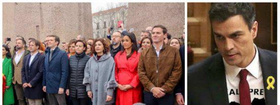 Marcos de Quinto arrincona a Sánchez por su nuevo pacto con golpistas y proetarras