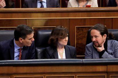 Un 'descriptivo' vídeo viral define con toda crudeza al Gobierno de Pedro Sánchez y Pablo Iglesias