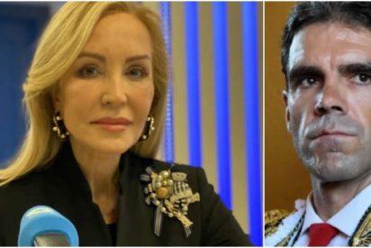 Estupefacción de Carmen Lomana ante el motivo de la separación de José Tomás y su mujer