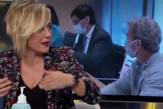 Cristina Pardo pone el grito en el cielo contra los políticos en el prime time de Antena3