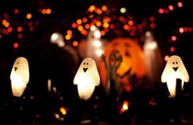 decoración de halloween 2020