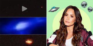 """El 'contacto extraterrestre' de Demi Lovato: """"Tengo pruebas, no se pueden ignorar y deben compartirse de inmediato"""""""