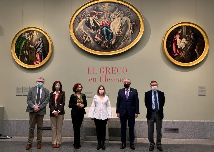 La Comunidad de Madrid impulsa la difusión de la pintura moderna a través de El Greco