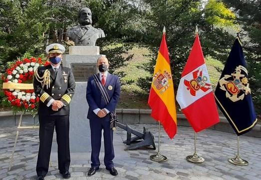 Madrid/ La Embajada del Perú rindió homenaje al Gran Almirante Don Miguel Grau Seminario