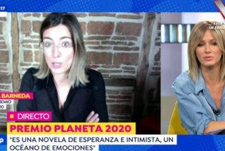 Susanna Griso vacila a Sandra Barneda y le dedica una frase mítica de 'La isla de las tentaciones'