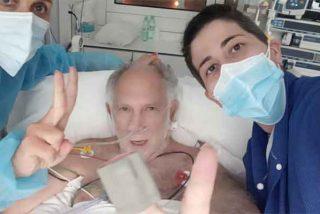 """El drama de Ernesto Ekaizer, enfermo de coronavirus: """"Arrasó mis pulmones y tuvieron que ponerme en coma inducido"""""""