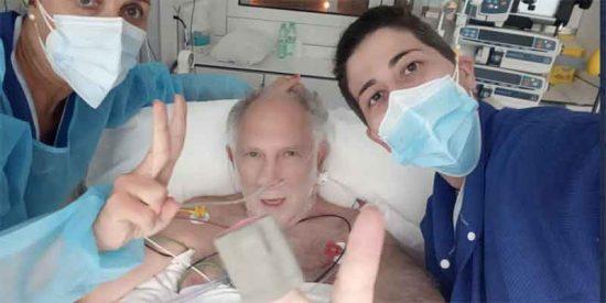 El drama de Ernesto Ekaizer, enfermo de COVID: «Arrasó mis pulmones y tuvieron que ponerme en coma inducido»