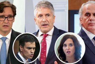 """La venganza de Sánchez e Illa contra Ayuso confina a 5 millones de madrileños: """"La paciencia tiene un límite"""""""