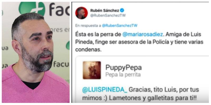 Rubén Sánchez (FACUA) pagará 6.000 euros a una tuitera a la que llamó timadora y mascota