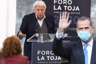 La defensa de Felipe González a Felipe VI deja en paños menores a 'Judas' Sánchez y compinches de Podemos