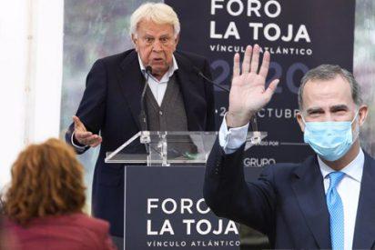 La defensa de González a Felipe VI deja en paños menores a 'Judas' Sánchez y Podemos