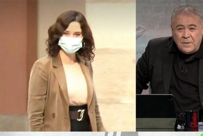 """Hasta Ferreras da alas a Ayuso: """"El Gobierno de España traga y le han temblado las piernas"""""""