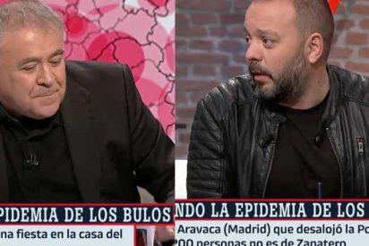Ferreras y laSexta, que no le dedicaron ni un solo minuto al 'Facuogate', señalan a Alvise Pérez