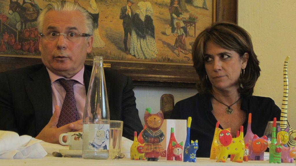 Cómo la comida de Delgado y su 'novio' Garzón con Florentino Pérez pone en jaque a la Fiscalía