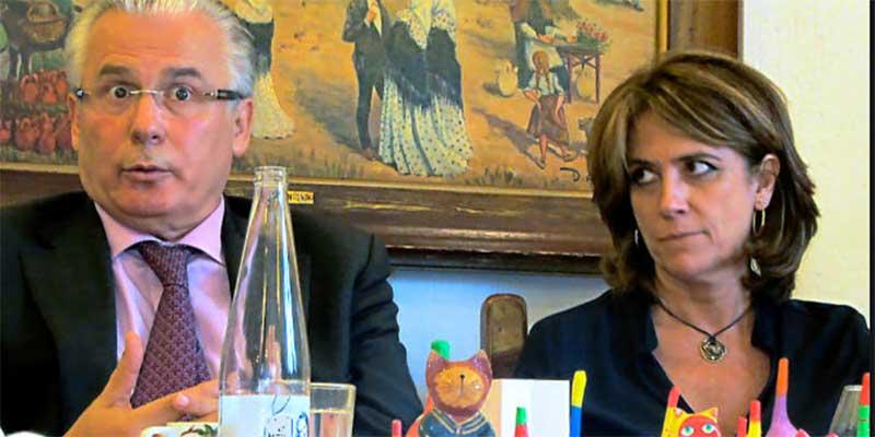La fiscal general Dolores Delgado y el ex juez Garzón se van de 'viaje de novios' a Cáceres