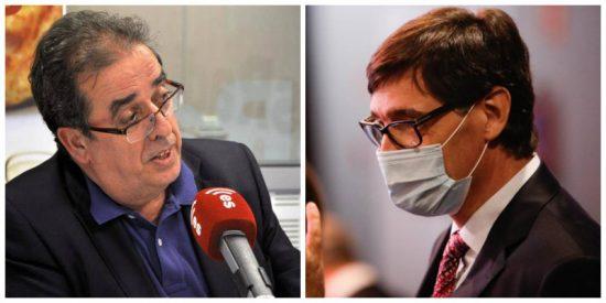 "Santiago González sobre Illa: ""Es el tío que confinó Madrid sin tener ni puta idea de Medicina"""
