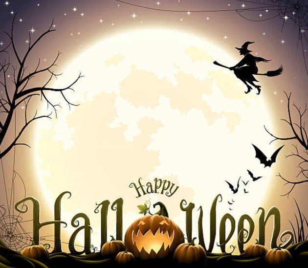 brujas en Halloween