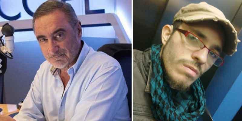 """Carlos Herrera, amenazado en redes sociales por un podemita: """"Cuidadín con tus hijos, Herrerita"""""""